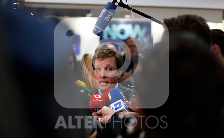 Jose Luis Martinez Almeida, mayor of Madrid attends during the second day of COP25 at the 'IFEMA - Feria de Madrid' exhibition centre, in Madrid, on December 3, 2019. (ALTERPHOTOS/Manu R.B.)