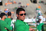 EL PASO, TX - OCTOBER 6: North Texas Mean Green Football vs University Texas El Paso at Sun Bowl in El Paso on October 6, 2018 in El Paso, Texas Photo Credit - Rick Yeatts