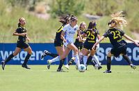 Irvine, CA - July 09, 2019: U.S. Soccer Girls' DA U-15 Semifinal San Jose Earthquakes vs Placer United Soccer Club at Great Park.