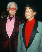Buddy Ebsen, Jim Varney, 1993, Photo By Michael Ferguson/PHOTOlink