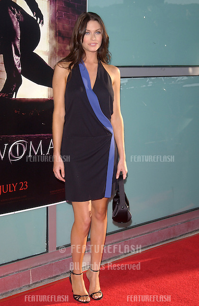 Actress KIM SMITH at the world premiere, in Hollywood, of her new movie Catwoman..July 19, 2004