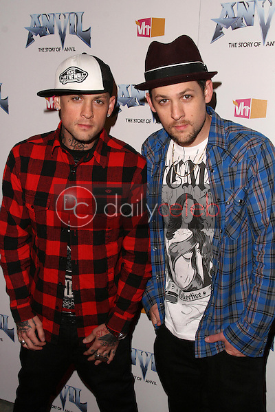 Benji Madden and Joel Madden<br />
