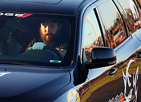 Jun 9, 2017; Englishtown , NJ, USA; Crew member for NHRA top fuel driver Leah Pritchett during qualifying for the Summernationals at Old Bridge Township Raceway Park. Mandatory Credit: Mark J. Rebilas-USA TODAY Sports