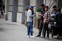 MAY 29 2013<br /> JONATHAN DOSANTOS PASEA POR BARCELONA<br /> Non Exclusive<br /> Mandatory Credit: KDNPIX.COM<br /> <br /> Ref: kdn_EU ©NortePhoto