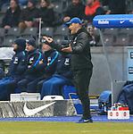 10.03.2018, OLympiastadion, Berlin, GER, 1.FBL, Hertha BSC VS. FC Freiburg, im Bild <br /> Cheftrainer (Head Coach) Pal Dardai (Hertha BSC Berlin)<br /> <br /> <br />       <br /> Foto &copy; nordphoto / Engler