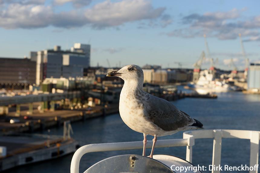 Westhafen in Helsinki, Finnland