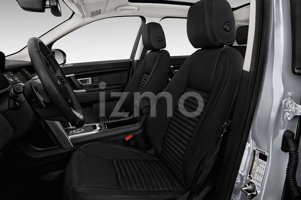 Front seat view of 2016 Land Rover Discovery Sport HSE Luxury 5 Door Suv Front Seat  car photos