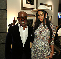 LOS ANGELES, CA - FEBRUARY 8: L.A. Reid and Nicole Scherzinger attend L.A. Reid & HITCO Entertainment's celebration of the 2019 Grammy Awards at Reids home on FEBRUARY 8, 2019 in Los Angeles, California. (Photo by Willy Sanjuan/PictureGroup)
