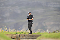 Ben Chamberlain from Wales on the 4th tee during Round 2 Singles of the Men's Home Internationals 2018 at Conwy Golf Club, Conwy, Wales on Thursday 13th September 2018.<br /> Picture: Thos Caffrey / Golffile<br /> <br /> All photo usage must carry mandatory copyright credit (&copy; Golffile | Thos Caffrey)