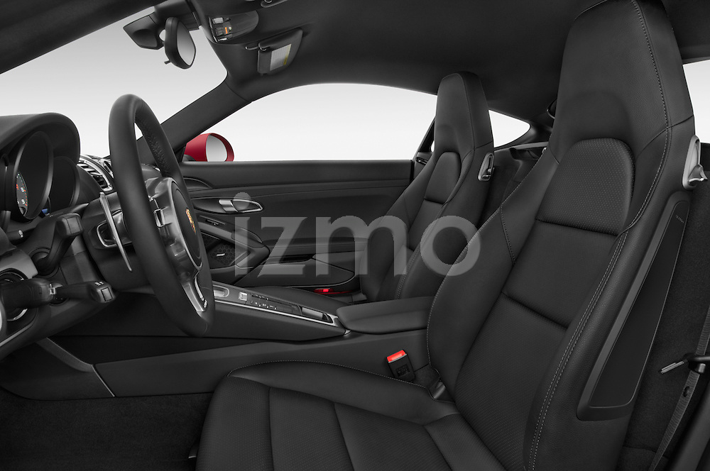 Front seat view of a 2015 Porsche Cayman S 2 Door Coupe Front Seat car photos