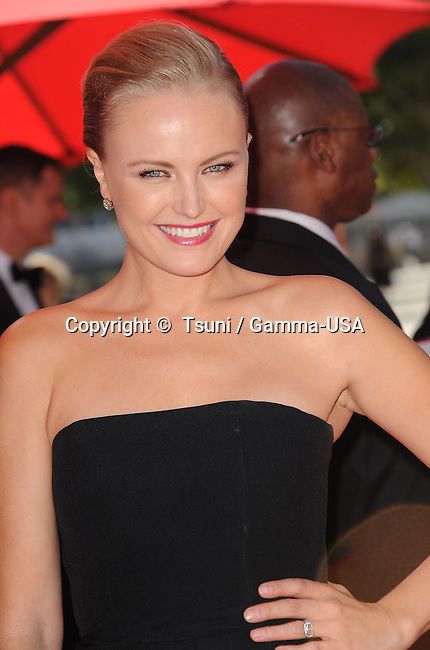 Malin Akerman  arriving  at the 2013 Primetime Creative Arts Emmy Awards  at the Nokia Theatre In Los Angeles.
