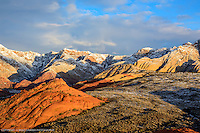 Snow Canyon, Utah<br /> First light and a clearing storm 1-8-16 SNOW CANYON STATE PARK- IVINS- ST. GEORGE, UTAH