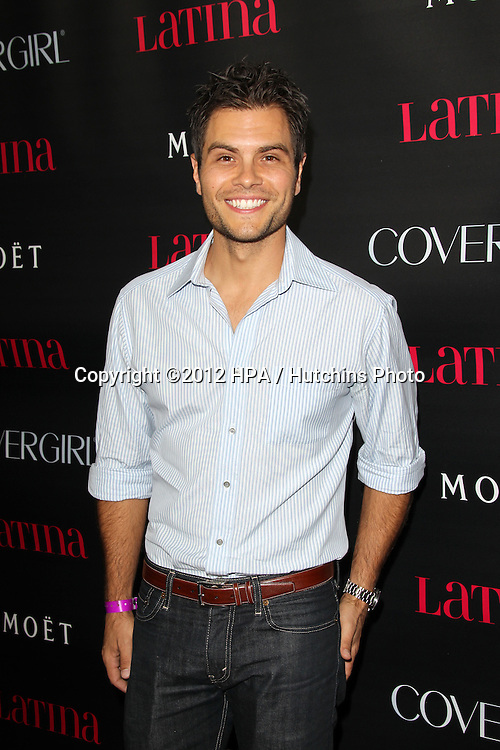 """LOS ANGELES - OCT 4:  Erik Valdez arrives at the """"Latinos In Hollywood"""" Event at The London West Hollywood on October 4, 2012 in West Hollywood, CA"""