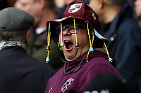 7th March 2020; Emirates Stadium, London, England; English Premier League Football, Arsenal versus West Ham United; A West Ham fan yawns during the second half