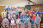 Harty's Bar & Restaurant, Causeway was in Full Swing as Jason Leahy, Causeway celebrated his 21st birthday with his family and friends. (Jason is seated centre).............