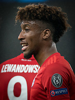 Kingsley Coman of Bayern Munich during the UEFA Champions League group match between Tottenham Hotspur and Bayern Munich at Wembley Stadium, London, England on 1 October 2019. Photo by Andy Rowland.