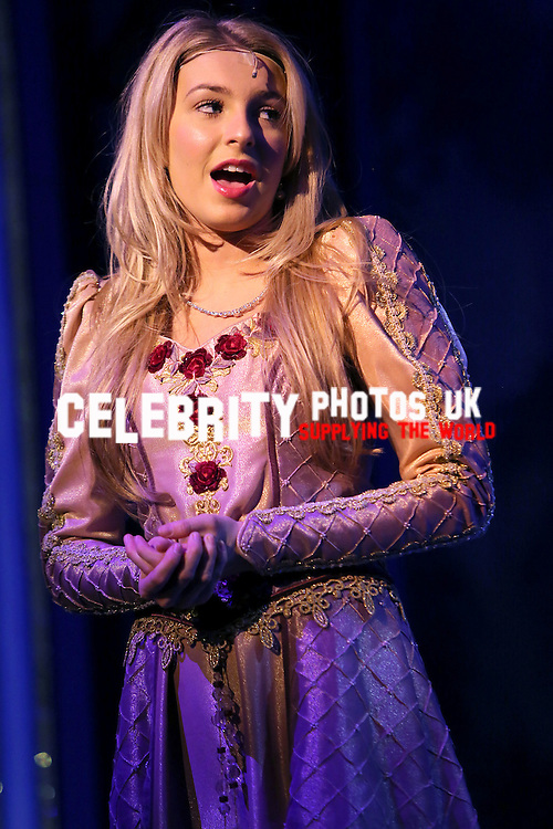 Sleeping Beauty at Aylesbury Waterside Theatre starring Anita Dobson as The Wicked Fairy Carabosse, Andy Collins as Chester the Jester and Holly Brewer as Sleeping Beauty
