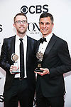 NEW YORK, NY - JUNE 10:  Tony Award winners, Alex Wyse and Ken Davenport pose in the 72nd Annual Tony Awards Press Room at 3 West Club on June 10, 2018 in New York City.  (Photo by Walter McBride/WireImage)
