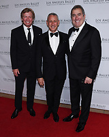 April 11, 2019 - Beverly Hills, California - Nigel Lythgoe, Adam Shankman and Kenny Ortega. Los Angeles Ballet Gala 2019 held at The Beverly Hilton Hotel. Photo Credit: Billy Bennight/AdMedia