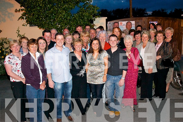 RETIREMENT: Mary O Daly, Oakpark, Tralee (centre) celebrated her retirement from the hairdressing business after 39 years, in Stokers Lodge last.Saturday night with her three children, Emer, Cian and Cormac and many friends.