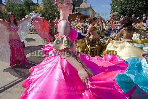 Flower Festival held the 40th time in Debrecen, Hungary. Thursday, 20. August 2009. ATTILA VOLGYI