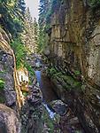 Wodospad Kamieńczyka w Karkonoskim Parku Narodowym, Polska<br /> Waterfall Kamieńczyka in the Karkonosze Mountain national park, Poland