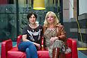 Edinburgh, UK. 27.08.2013.Orla O'Loughlin (artistic director) and Linda Crooks (executive producer) of the Traverse Theatre at the end of the Edinburgh Festival Fringe. Photograph © Jane Hobson.