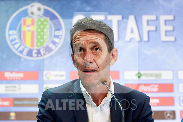 Getafe CF's Sports Director Ramon Planes. September 5, 2017. (ALTERPHOTOS/Acero)