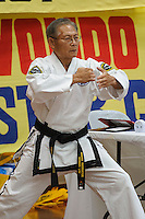 Master Low showing technique