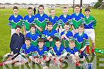 The Dingle Team who competed at the Feile na Gael blitz at Caherslee on Saturday.Front Row. Patrick Sheehy, Aidan O'Connor, Thomas Sheehy and Catgal Sheehy..Middle Row: Seamus Flagerty, Andrew Flannery, Cathal Begley, Tom O'Sullivan and Cathal Bambury..Back Row: MAtthew Flaherty, David O'Connor, Robert Barrett, Liam Boland, Alan Kennedy, Patrick O'Connor and Mark O'Connor Donal Sheehy Missing from picture.