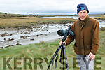 Geoff Hunt conducts a Biodiversity Survey in Ballylongford's Sand Quays on Sunday.
