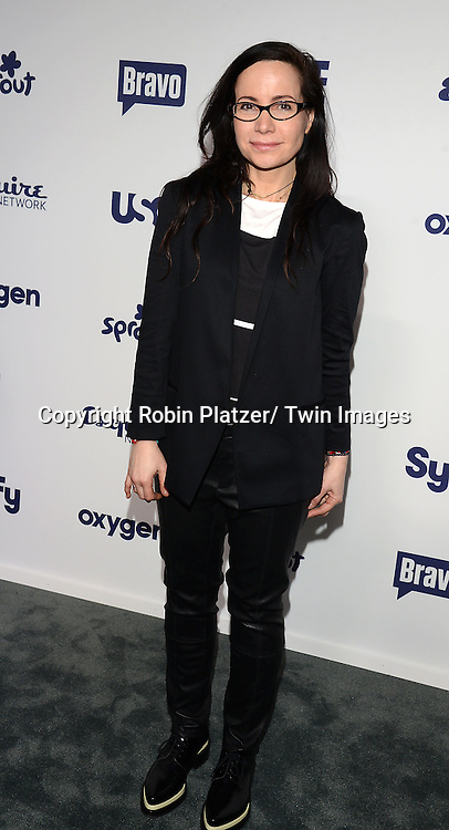 Janeane Garafalo attends the NBCUniversal Cable Entertainment Upfront <br /> on May 15, 2014 at The Javits Center North Hall in New York City, New York, USA.