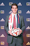 16 January 2014: Patrick Mullins was selected with the eleventh overall pick by the New England Revolution. The 2014 Major League Soccer SuperDraft was held at the NSCAA Annual Convention in the Pennsylvania Convention Center in Philadelphia, Pennsylvania.