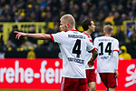 10.02.2018, Signal Iduna Park, Dortmund, GER, 1.FBL, Borussia Dortmund vs Hamburger SV, <br /> <br /> im Bild | picture shows:<br /> Rick van Drongelen (Hamburger SV #4), <br /> <br /> <br /> Foto &copy; nordphoto / Rauch