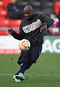 Steve Beleck of Stevenage (on loan from Watford). Crewe Alexandra v Stevenage - npower League 1 - The Alexandra Stadium, Gresty Road, Crewe - 5th January, 2013. © Kevin Coleman 2013.
