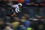 Norwegian Champion Edvald Boasson Hagen (NOR) Team Dimension Data in action during Stage 1, a 14km individual time trial around Dusseldorf, of the 104th edition of the Tour de France 2017, Dusseldorf, Germany. 1st July 2017.<br /> Picture: ASO/Alex Broadway | Cyclefile<br /> <br /> <br /> All photos usage must carry mandatory copyright credit (&copy; Cyclefile | ASO/Alex Broadway)