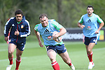 British & Irish Lions training session.Jamie Roberts taking part in the Lions training session in Wales..Vale Resort.15.05.13.©Steve Pope