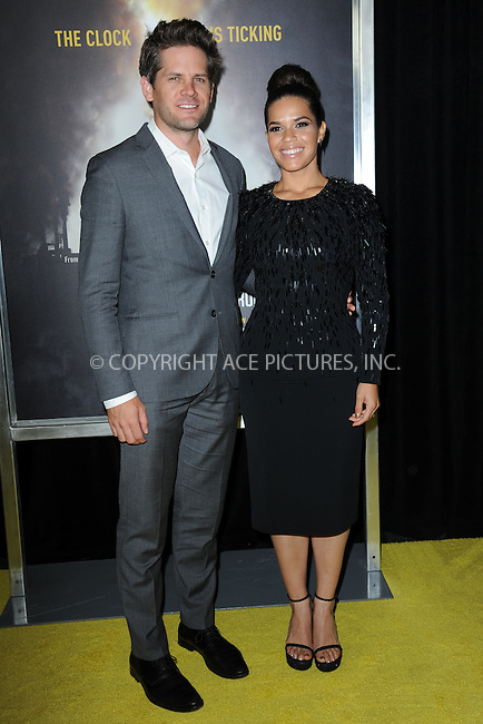 www.acepixs.com<br /> September 21, 2016  New York City<br /> <br /> Ryan Piers Williams and America Ferrera attending National Geographic's 'Years Of Living Dangerously' new season world premiere at the American Museum of Natural History on September 21, 2016 in New York City. <br /> <br /> Credit: Kristin Callahan/ACE Pictures<br /> <br /> <br /> Tel: 646 769 0430<br /> Email: info@acepixs.com