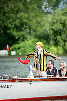 Henley Royal Regatta, Henley on Thames, Oxfordshire, 29 June-3 July 2015.  Thursday  10:10:41   30/06/2016  [Mandatory Credit/Intersport Images]<br /> <br /> Rowing, Henley Reach, Henley Royal Regatta.<br /> <br /> J G Hedger, Esq. Umpire