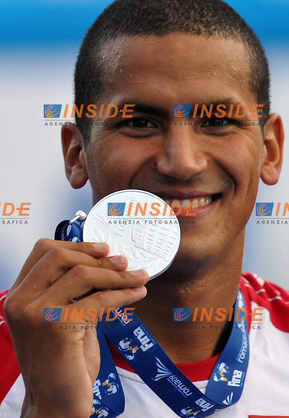 Roma 29th July 2009 - 13th Fina World Championships From 17th to 2nd August 2009....Swimming finals..Men's 800m freestyle ..Oussama Mellouli (TUN)....photo: Roma2009.com/InsideFoto/SeaSee.com