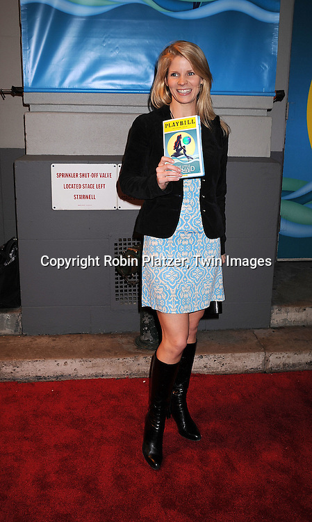 "Kelli O'Hara.arriving at The Broadway Opening Night of ""The Little Mermaid"" on January 10, 2008 at The Lunt-Fontaine Theatre in New .York. .Robin Platzer, Twin Images"