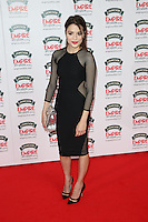 Stephanie Leonidas at The Jameson Empire Film Awards 2014 - Arrivals, London. 30/03/2014 Picture by: Henry Harris / Featureflash