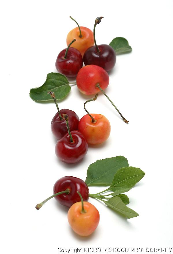 Cherries still life.