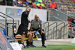 Co-Trainer Rob Kelly (F95), Trainer Uwe Roesler (F95)<br /><br />20.06.2020, Fussball, 1. Bundesliga, Saison 2019 / 2020<br />33.Spieltag, Fortuna Duesseldorf : FC Augsburg<br /><br />Foto : NORBERT SCHMIDT/POOL/ via Meuter/nordphoto<br /><br />Nur für journalistische Zwecke ! Only for editorial use .
