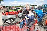 Jimmy and Ciaran Lixnaw at the kingdom county fair at Ballybeggan park, Tralee on Sunday.