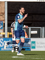 Paul Hayes of Wycombe Wanderers during the Sky Bet League 2 match between Wycombe Wanderers and Notts County at Adams Park, High Wycombe, England on the 25th March 2017. Photo by Liam McAvoy.