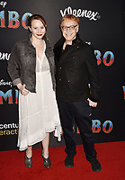 HOLLYWOOD, CA - MARCH 11: Mali Elfman (L) and Danny Elfman attend the premiere of Disney's 'Dumbo' at El Capitan Theatre on March 11, 2019 in Los Angeles, California.<br /> CAP/ROT/TM<br /> &copy;TM/ROT/Capital Pictures