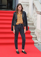 Charlotte Wiggins at the Film4 Summer Screen: The Wife Opening Gala at Somerset House, Strand, London, England, UK on Thursday 9th August 2018.<br /> CAP/ROS<br /> &copy;ROS/Capital Pictures /MediaPunch ***NORTH AND SOUTH AMERICAS ONLY***