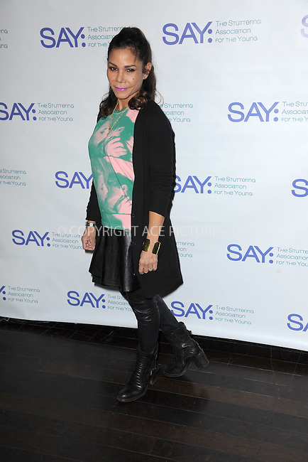 WWW.ACEPIXS.COM<br /> January 12, 2015 New York City<br /> <br />  Daphne Rubin-Vega attending the Third Annual Paul Rudd All-Star Bowling Benefit for The Stuttering Association for the Young (SAY) at Lucky Strike Lanes &amp; Lounge on January 12, 2015 in New York City.<br /> <br /> Please byline: Kristin Callahan/AcePictures<br /> <br /> ACEPIXS.COM<br /> <br /> Tel: (212) 243 8787 or (646) 769 0430<br /> e-mail: info@acepixs.com<br /> web: http://www.acepixs.com