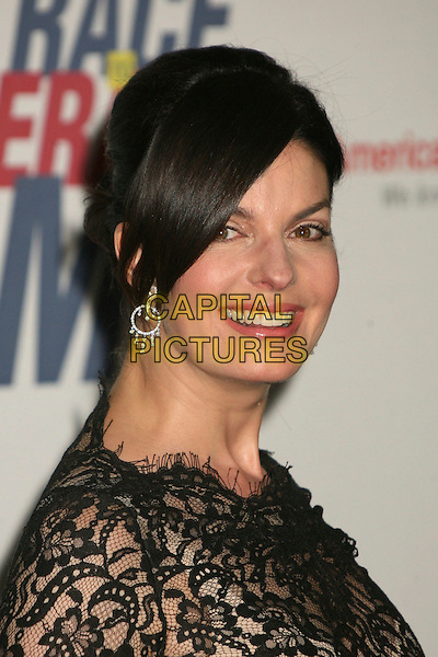 "SELA WARD.14th Annual Race to Erase MS Themed ""Dance to Erase MS"" at the Century Plaza Hotel, Century City, California, USA, 13 April 2007..portrait headshot black lace top dress beaded .CAP/ADM/BP.©Byron Purvis/AdMedia/Capital Pictures."